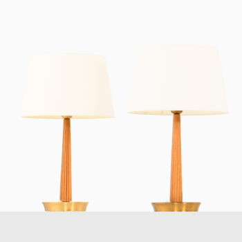 Hans Bergström table lamps by ASEA at Studio Schalling