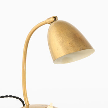 Table lamp in brass by YBE konst at Studio Schalling