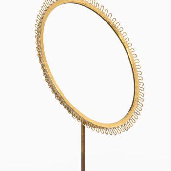 Josef Frank table mirror in brass at Studio Schalling