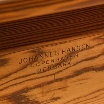 Hans Wegner valet chair in teak and pine at Studio Schalling