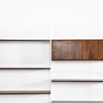 Poul Nørreklit bookcase in rosewood at Studio Schalling