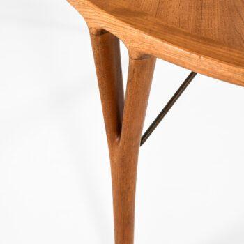 Helge Vestergaard Jensen dining table in teak at Studio Schalling