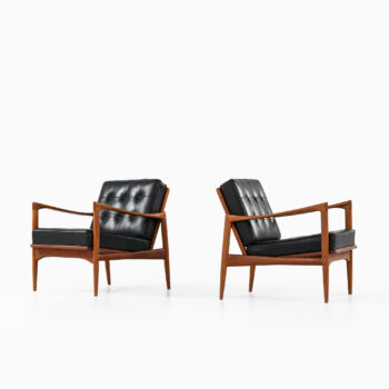 Ib Kofod-Larsen easy chairs by OPE at Studio Schalling