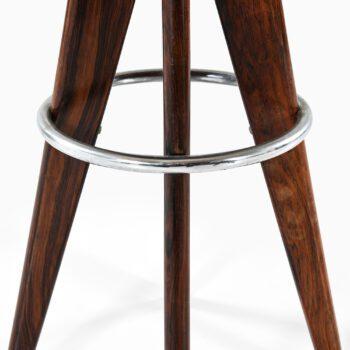 Arne Hovmand-Olsen stools in rosewood at Studio Schalling