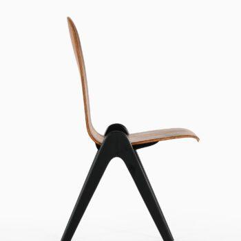 Yngve Ekström knockdown dining chairs at Studio Schalling