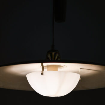Height adjustable ceiling lamp by Bergbom at Studio Schalling