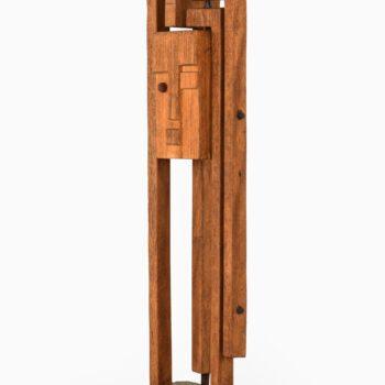 Hjalmar Ekberg sculpture in wood at Studio Schalling