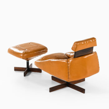 Percival Lafer easy chair with stool at Studio Schalling