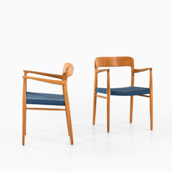 Niels O. Møller armchairs model 56 at Studio Schalling