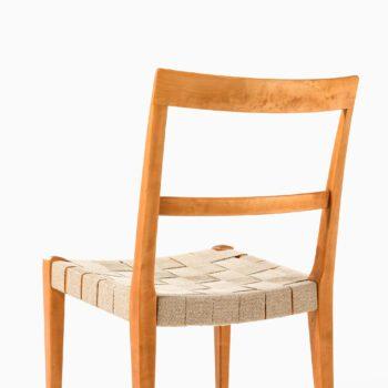 Bruno Mathsson Mimat dining chairs at Studio Schalling