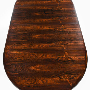 Dining table in rosewood by VV Møbler at Studio Schalling