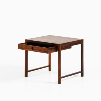 Side table with drawer in rosewood at Studio Schalling