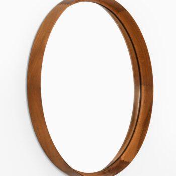 Uno & Östen Kristiansson mirror in mahogany at Studio Schalling