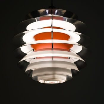 Poul Henningsen ceiling lamps model Kontrast at Studio Schalling