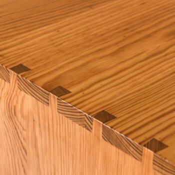 Mogens Koch bookcases in Oregon pine at Studio Schalling