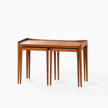 Kurt Østervig nesting tables in teak at Studio Schalling