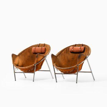 Erik Ole Jørgensen easy chairs model BO 360 at Studio Schalling