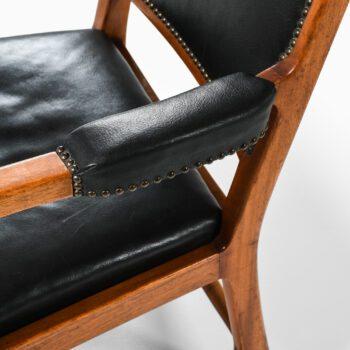 Erik Chambert armchairs in mahogany at Studio Schalling