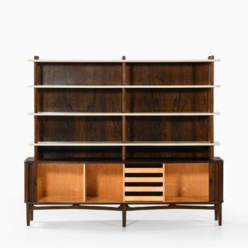 Kurt Olsen bookcase / sideboard in walnut at Studio Schalling