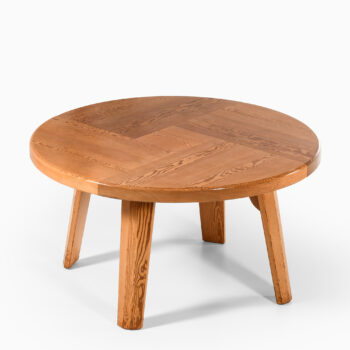 Large dining table in solid pine at Studio Schalling