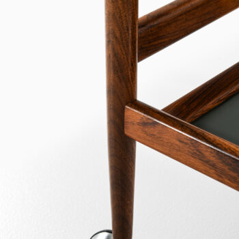 Trolley in rosewood and formica by Dyrlund at Studio Schalling