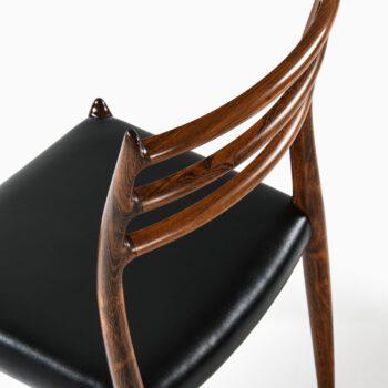 Niels O. Møller dining chairs model 78 at Studio Schalling