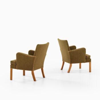 Kaare Klint easy chairs model 5313 at Studio Schalling