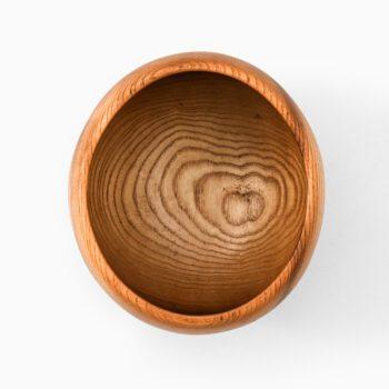 Gösta Israelsson wooden bowl at Studio Schalling