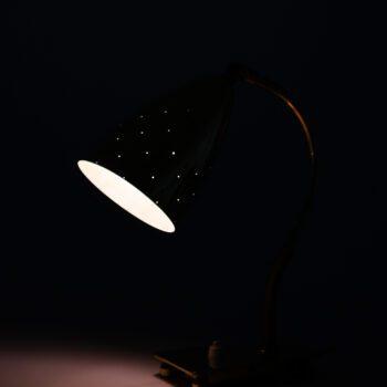 Itsu table lamps in brass model EV 54 at Studio Schalling
