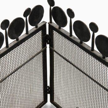 Bertil Vallien fire screen by Boda at Studio Schalling