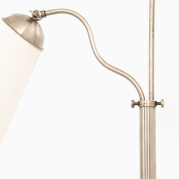Floor lamp in nickel plated metal at Studio Schalling