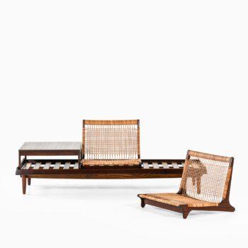 Hans Olsen sofa model 161 in teak at Studio Schalling