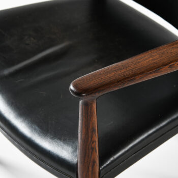 Jacob Kjær armchair in rosewood and leather at Studio Schalling