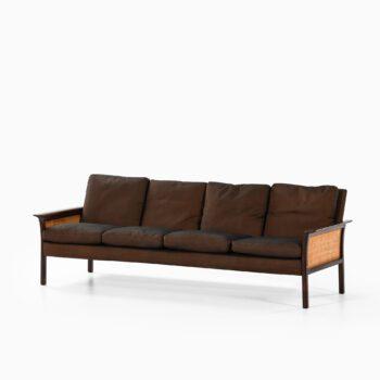 Hans Olsen sofa model 500 in rosewood at Studio Schalling