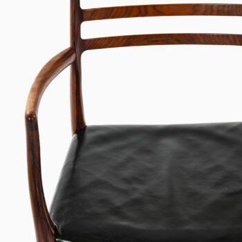 Niels O. Møller armchair model 62 in rosewood at Studio Schalling