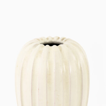 Vicke Lindstrand ceramic vase by Upsala Ekeby at Studio Schalling
