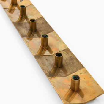 Pierre Forsell candlesticks by Skultuna at Studio Schalling