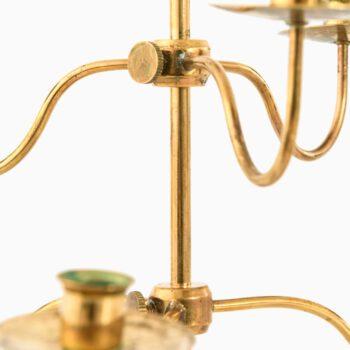 Josef Frank candlesticks in brass at Studio Schalling