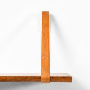 Kristian Solmer Vedel wall shelf in walnut at Studio Schalling