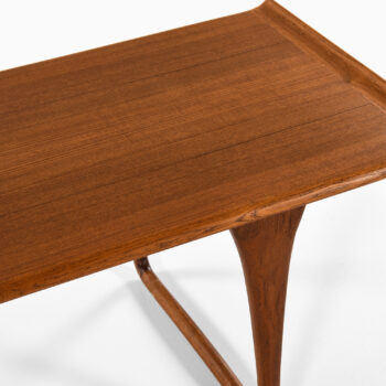 Svante Skogh coffee table in teak at Studio Schalling