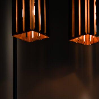 Floor lamps attributed to Werner Schou at Studio Schalling