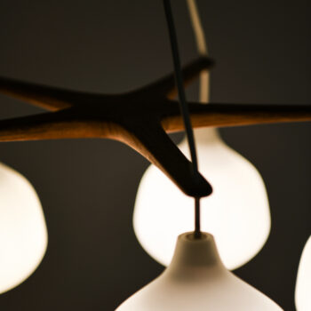 Uno & Östen Kristiansson ceiling lamp at Studio Schalling