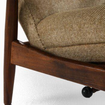 Povl Dinesen easy chairs in teak at Studio Schalling