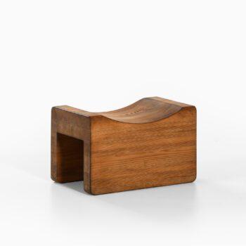 Stool in pine by unknown designer at Studio Schalling