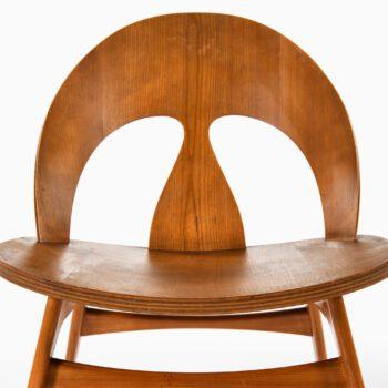 Børge Mogensen easy chair in cherry at Studio Schalling