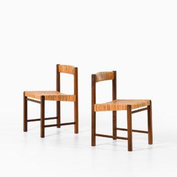 Reino Ruokolainen dining chairs in teak at Studio Schalling