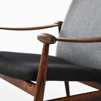 Finn Juhl easy chair in rosewood at Studio Schalling