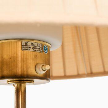 Hans-Agne Jakobsson floor lamps model G-50 at Studio Schalling