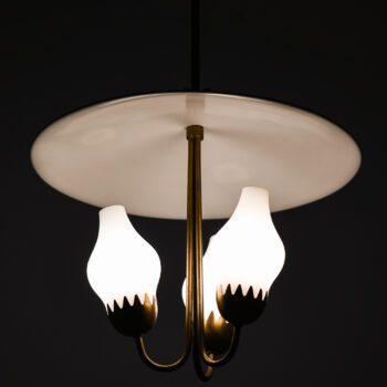Hans Bergström ceiling lamps model nr 95 at Studio Schalling