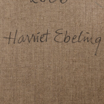 Harriet Ebeling oil painting from 2006 at Studio Schalling